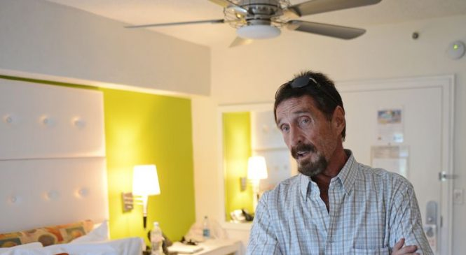 Anti-virus software creator John McAfee 'detained at airport' over fraud charges