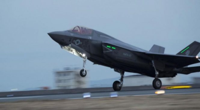 Marines form new F-35B Fighter Attack Squadron in Japan