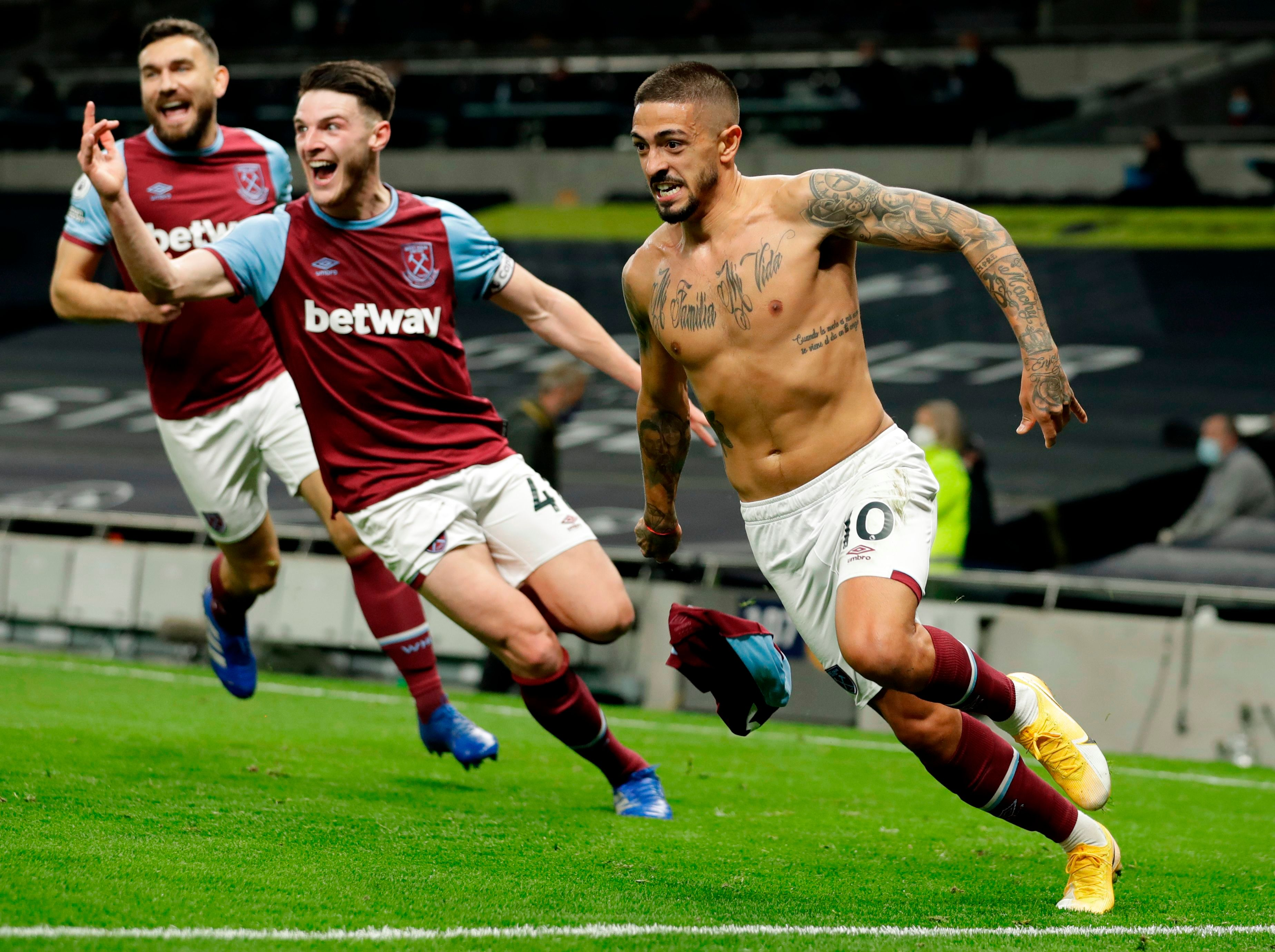 These scenes will bring a smile to the face of any West Ham fan for years to come