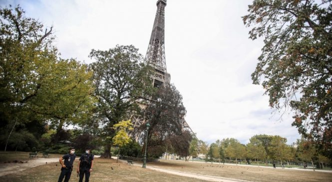 Paris teacher beheaded in terrorist attack, French officials say