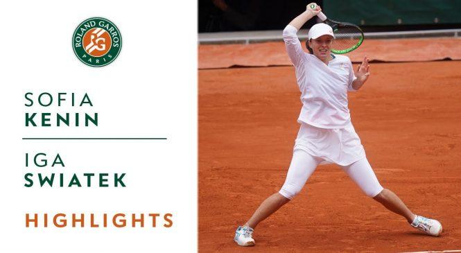 Iga Swiatek beats American Sofia Kenin in French Open final