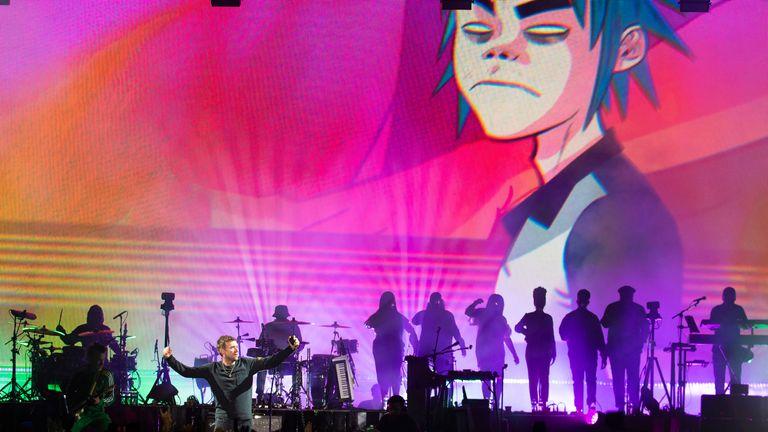 Damon Albarn calls for 'live music prescription' during 'existential emergency'