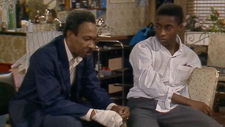 Sitcom Desmonds, starring Norman Beaton, ran from 1989 to 1994. Pic: Netflix