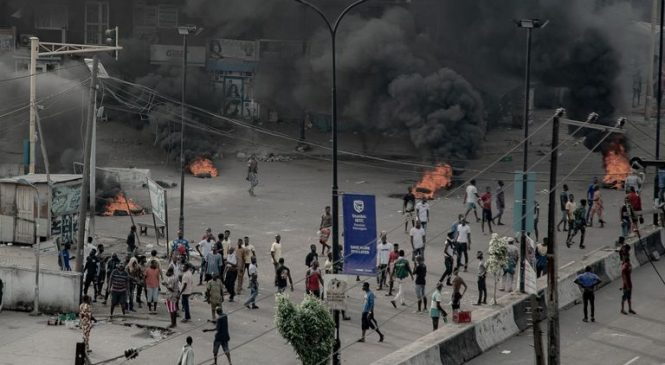 'At least 12 killed by government forces' as End SARS protests continue in Nigeria
