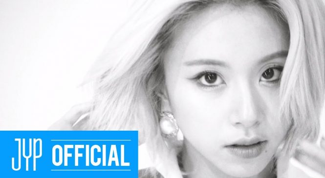 Watch: Chaeyoung poses among flowers in 'Eyes Wide Open' concept film