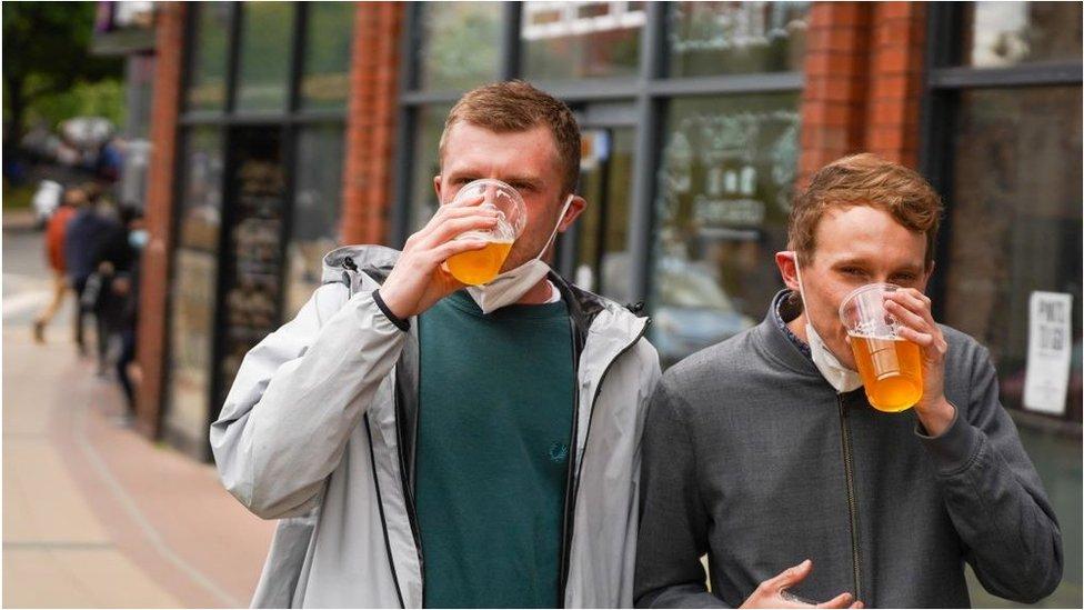 Pub plans eased as takeaway beer sales now allowed