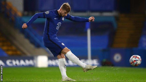 Chelsea 3-0 Rennes: Timo Werner scores twice from the penalty spot