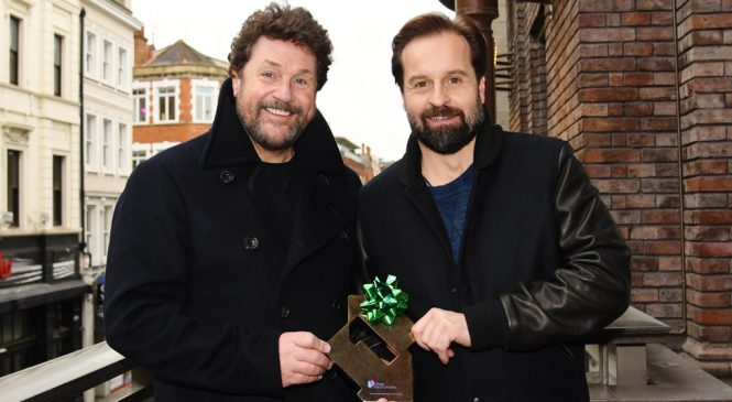 Michael Ball and Alfie Boe's Christmas album beats BTS to UK number one