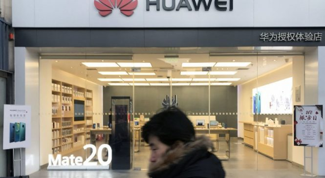 Britain bans telecoms from installing Huawei equipment from September
