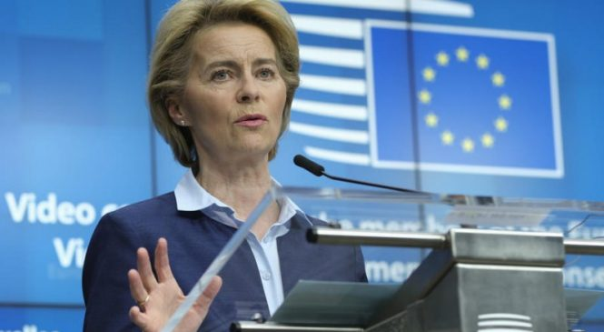 Ursula von der Leyen: EU, Britain making progress in Brexit talks