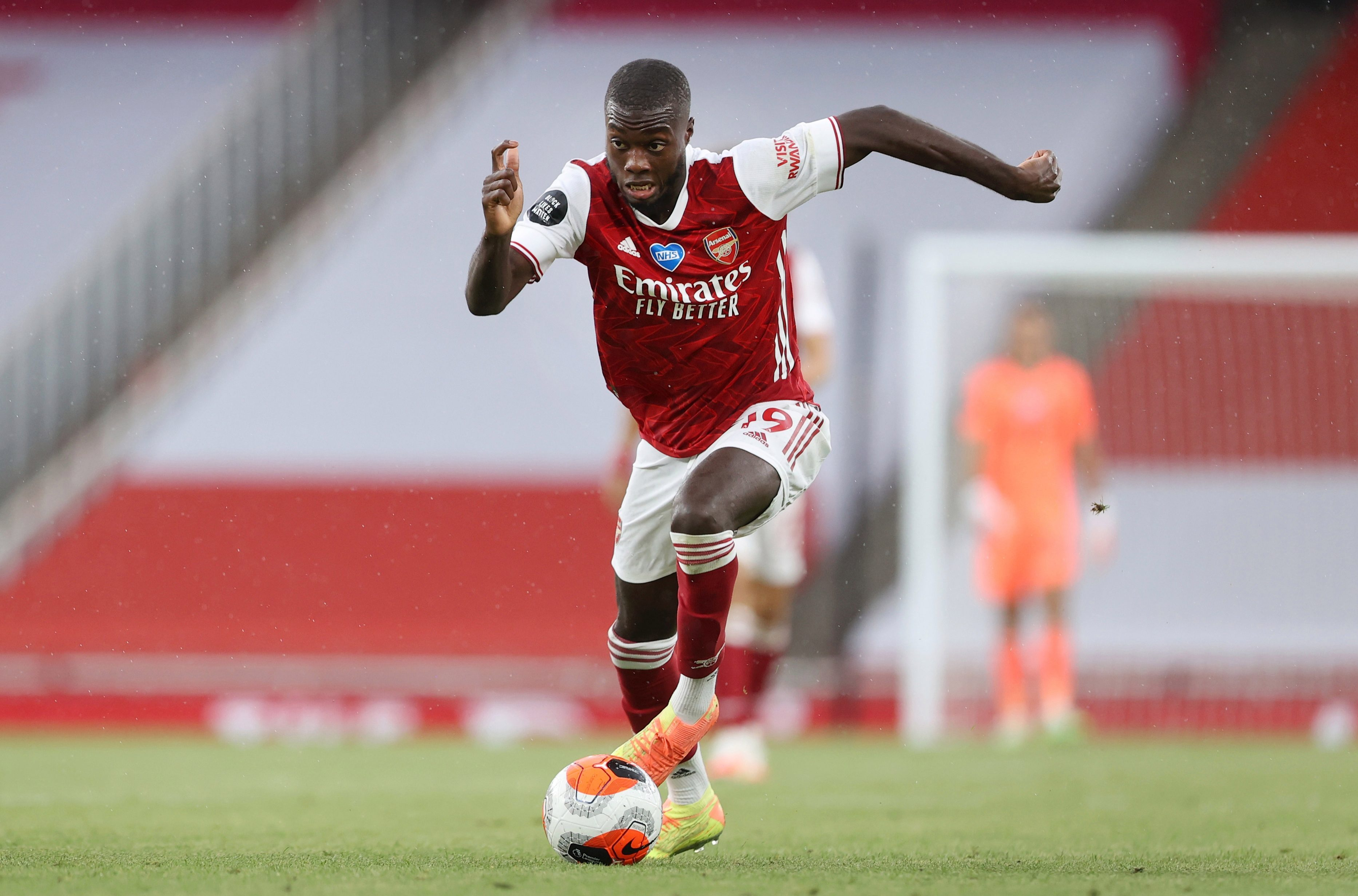 Nicolas Pepe admits Arsenal 'frustration' as Gunners forward sends message to Mikel Arteta – 'My goal is to play more'