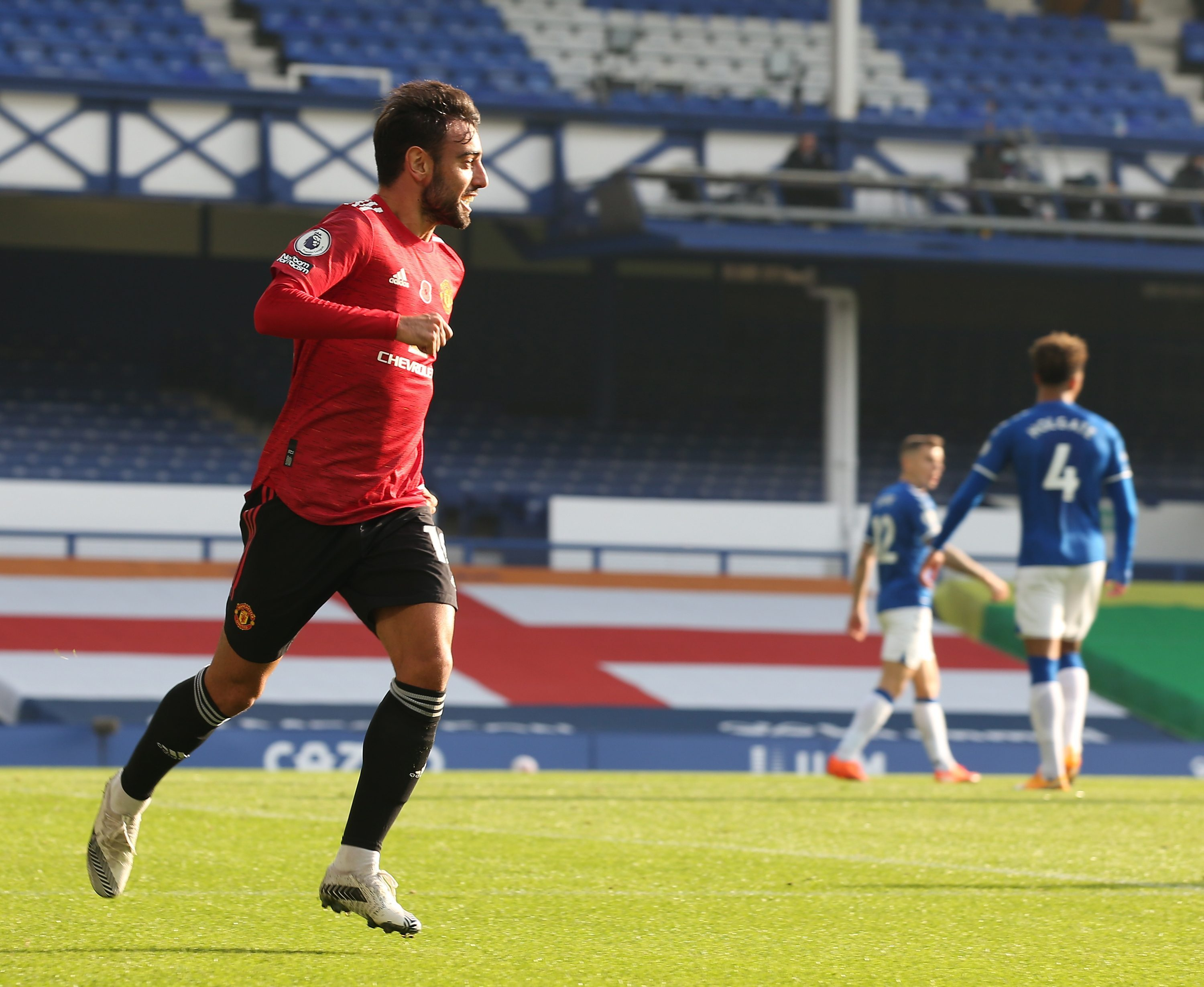 Fernandes was at his best in United's last match, scoring twice and getting an assist in the 3-1 win at Everton
