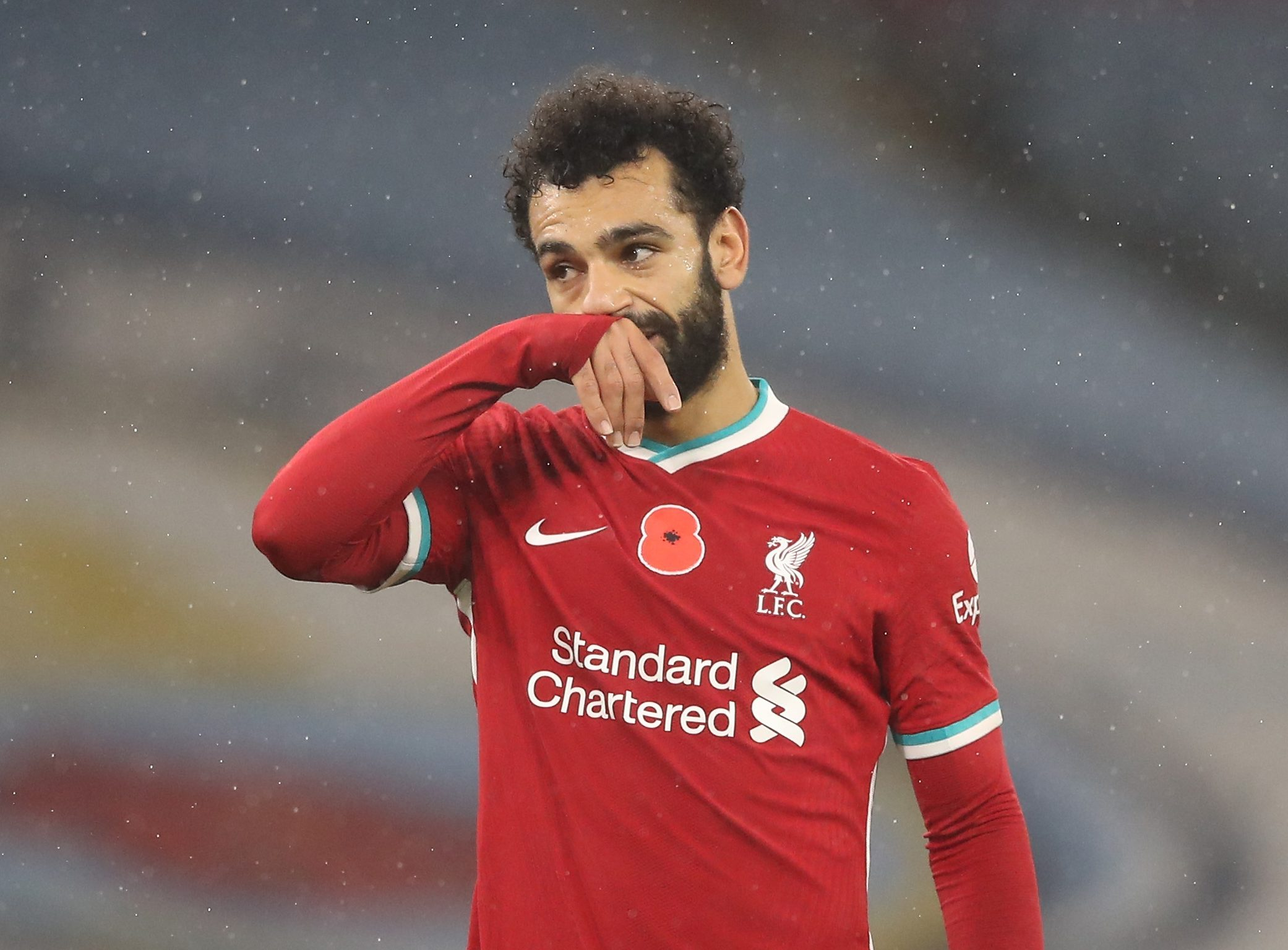 Mohamed Salah will not be in the Liverpool squad against Leicester
