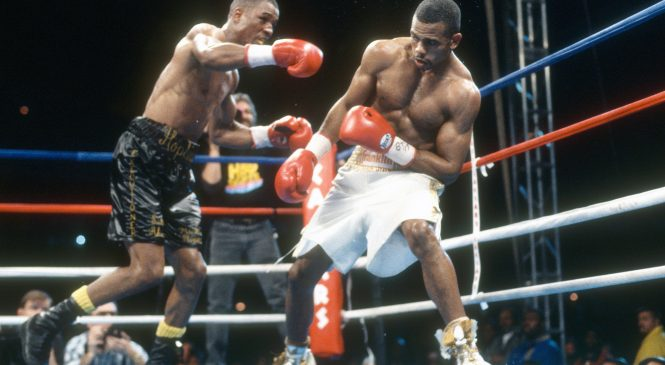 How good was Roy Jones Jr? The man who knocked a guy out with his hands behind his back is fighting Mike Tyson who bit a man's ear off