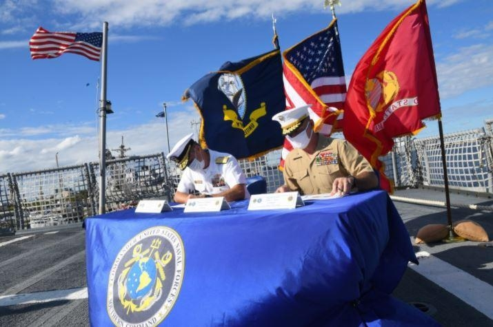 Navy, Marines agree to integrated plan for southern commands