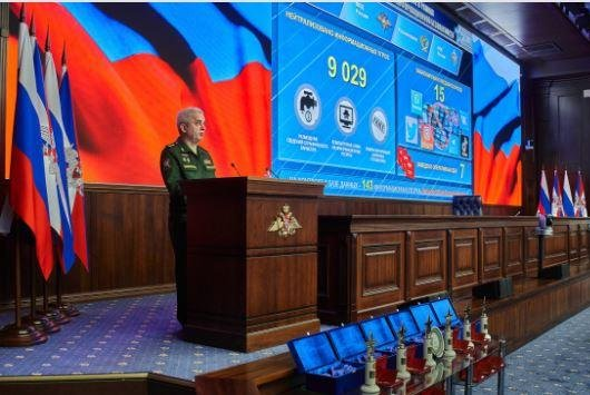 Russian defense minister says new cyberspace secure for data exchange
