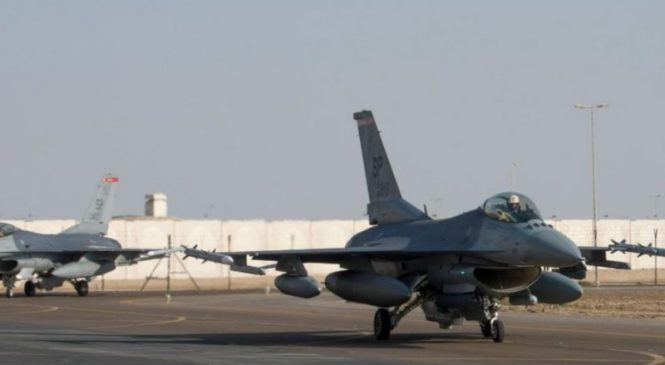 USAF F-16s move from Germany to UAE