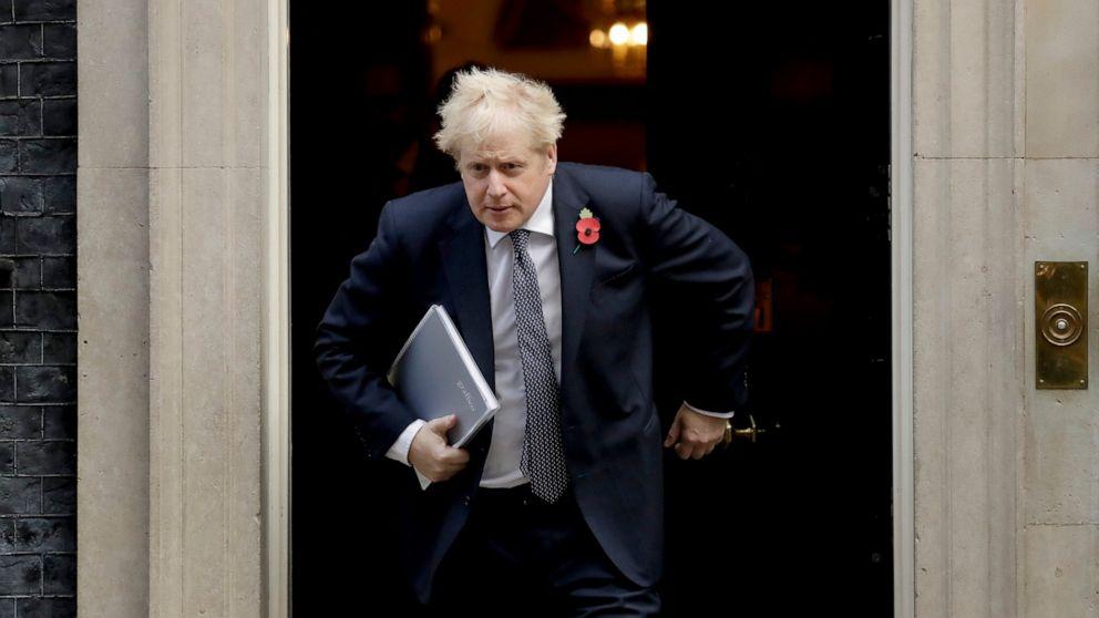 UK's Johnson in quarantine but declares himself fit, working
