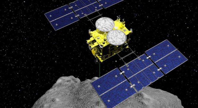 Japan spacecraft carrying asteroid soil samples nears home