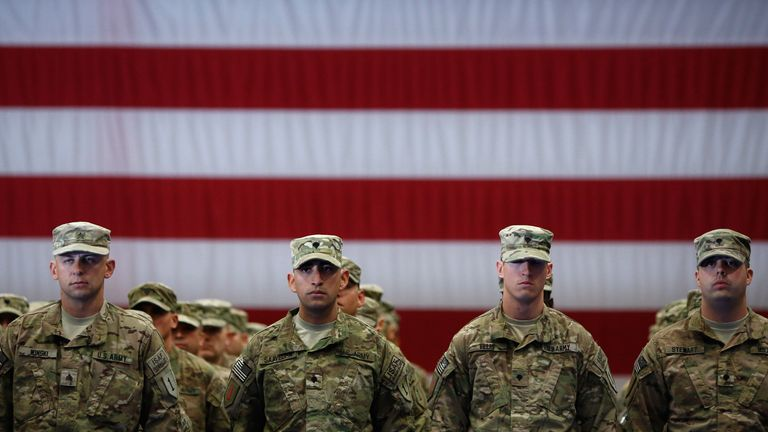 US announces sharp reduction of troop numbers in Afghanistan and Iraq