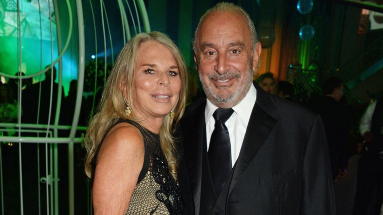 attends Lisa Tchenguiz's 50th birthday party at the Troxy on January 24, 2015 in London, England.