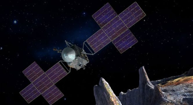 Hubble Telescope used to study rare metal asteroid