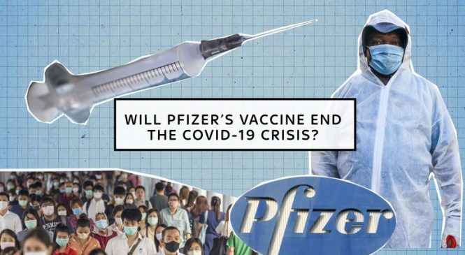 Pfizer vaccine is safe, 95% effective and will be submitted for authorisation 'within days'