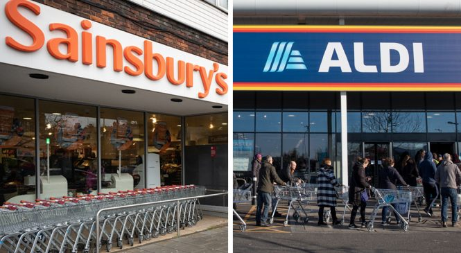 Sainsbury's and Aldi to hand back £540m of business rates relief