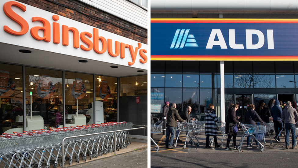 A Sainsbury's and an Aldo