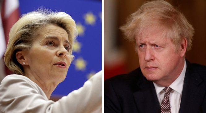 Brexit stalemate: Boris Johnson and Ursula Von Der Leyen seek to break trade deal deadlock