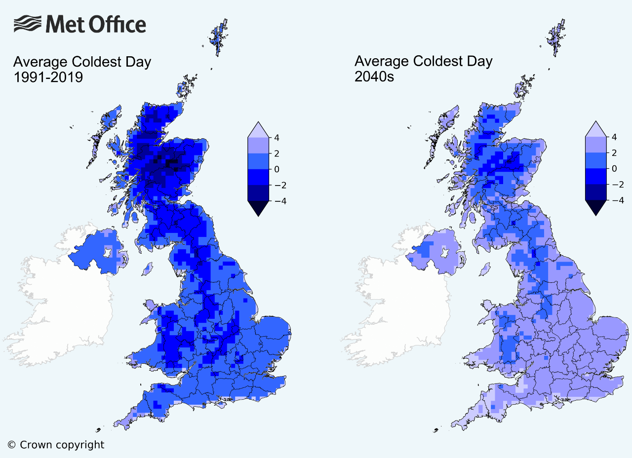 Climate change: Snowy UK winters could become thing of the past