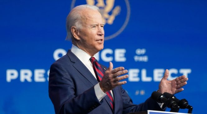 Joe Biden says 'no time to waste' as climate team unveiled