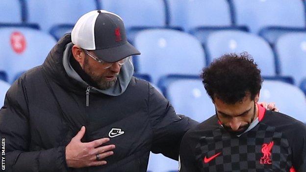 Liverpool boss Jurgen Klopp plays down concerns over Mohamed Salah