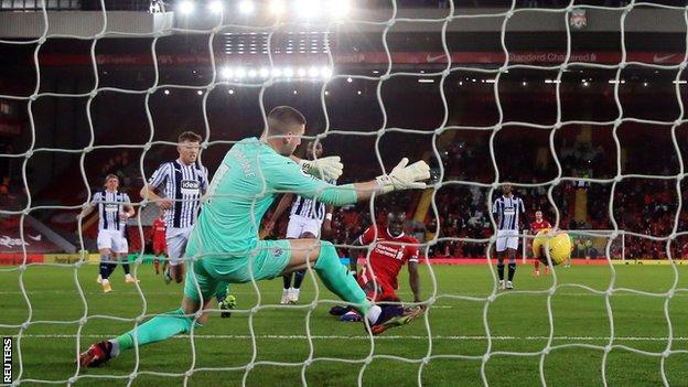 Liverpool 1-1 West Bromwich Albion: Semi Ajayi scores dramatic late equaliser