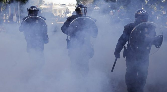 Data shows demilitarizing police doesn't put officers or the public at risk