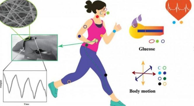 Microfibers could allow pieces of clothing to track a variety of vital signs