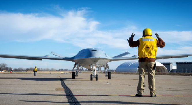 Navy creates program for specialists to operate MQ-25 Stingray drone