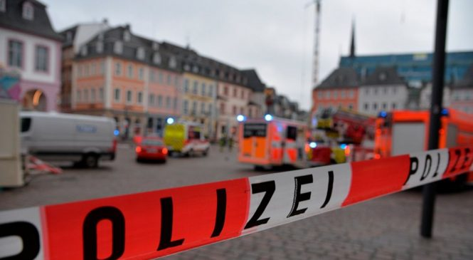 Police: Several injured when car hits pedestrians in Germany