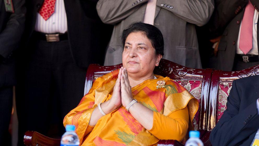 Nepal president dissolves Parliament; elections next spring