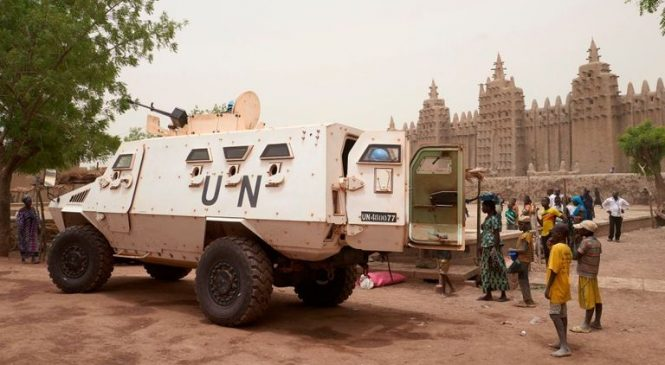 British troops deployed to war-torn Mali for UN's most dangerous peacekeeping mission