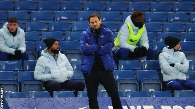 Frank Lampard: How much pressure is the Chelsea boss under after latest defeat?