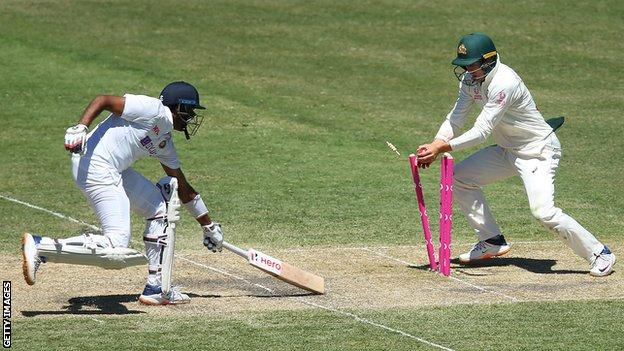 Australia v India: Hosts take control of third Test after fine bowling and fielding display