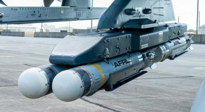Air Force tests collaborative small diameter bombs
