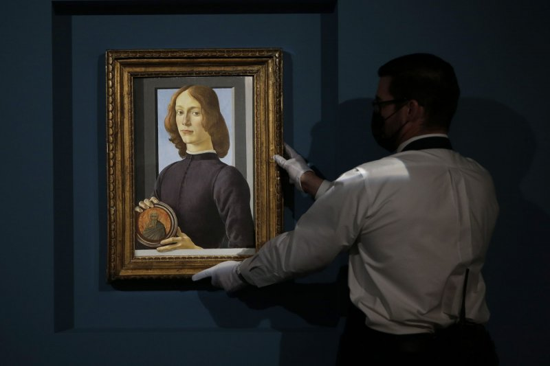 Botticelli portrait expected to fetch $80M at Sotheby's auction next week