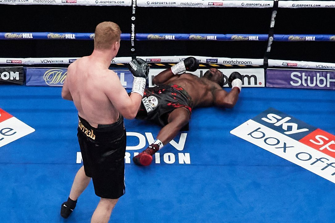 Whyte was beaten by Povetkin via fifth-round knockout