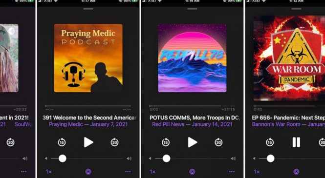Extremists exploit a loophole in social moderation: Podcasts
