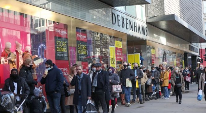Shop closures hit record level as 'golden quarter' lost to COVID