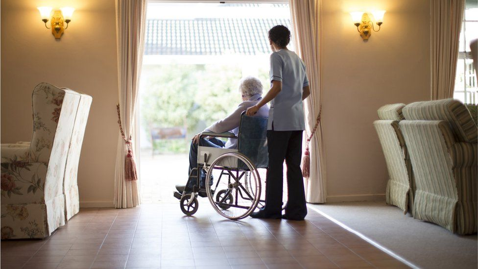 Covid-19: Care home residents in England to be allowed one regular visitor