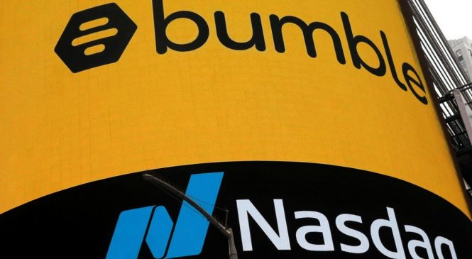 Bumble: Female-founded dating app tops $13bn in market debut