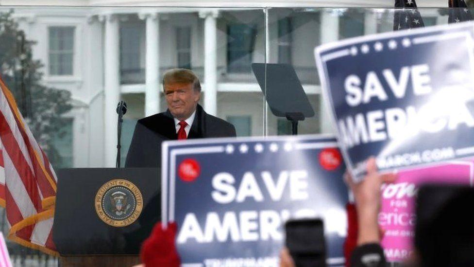 Trump impeachment: Insurrection incitement charge a 'monstrous lie'